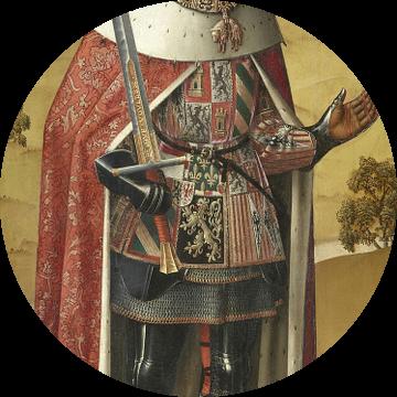 Linkerluik van de Zierikzee-triptiek: Filips de Schone, Meester van het Leven van Jozef