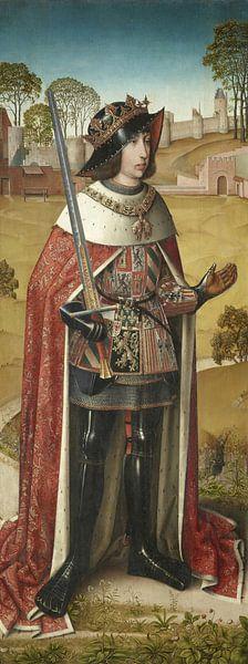 Linkerluik van de Zierikzee-triptiek: Filips de Schone, Meester van het Leven van Jozef van Meesterlijcke Meesters