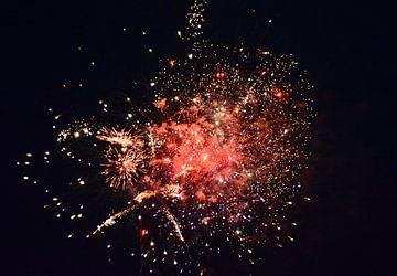 Feuerwerk3 van Edgar Schermaul
