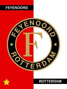 Football Art Feyenoord Rotterdam