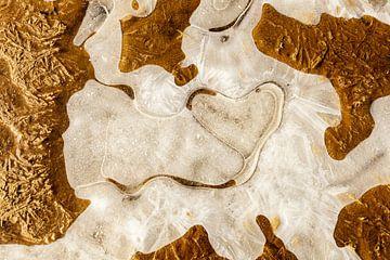 Coeur hiver - structure de glace sur Karla Leeftink