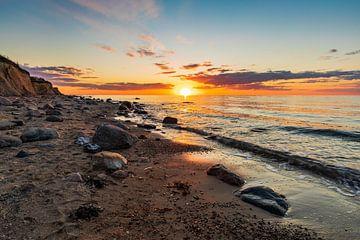 Baltic sunset von Ursula Reins