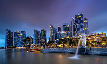 Singapore Marina Bay sur Adelheid Smitt