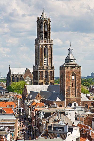 Tour Dom et quartier Oren Utrecht sur Anton de Zeeuw