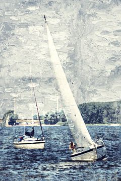 Sail away von Art by Jeronimo