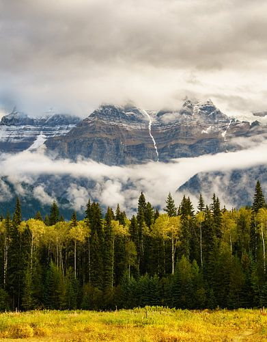 Obscured Mount Robson