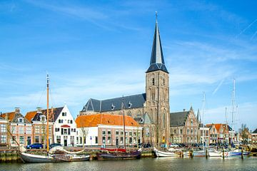 Sint-Michaëlkerk in Harlingen van Tine Visser