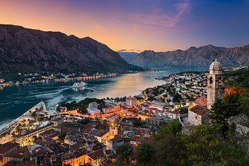 Baai van Kotor, Montenegro van Michael Abid