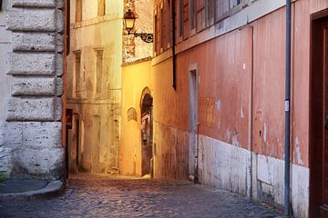 La lumière du soleil à Rome sur Rob van Esch