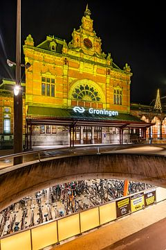 Fahrrad-Stadt Groningen von Sterkenburg Media