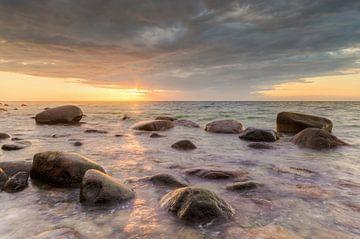 Zonsondergang op Rügen van Michael Valjak