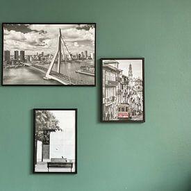 Klantfoto: Berlijn in Black and White van Mark de Weger, op fotoprint