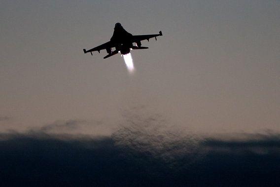 F16 Tijdens Take off