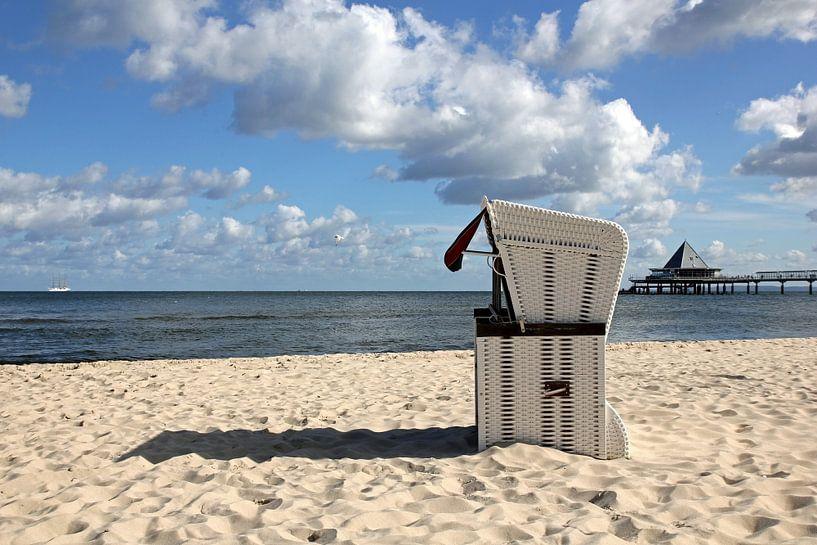 Strandkorb auf Usedom von Ostsee Bilder