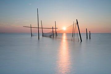 Visnetten op de Noordzee von Ingrid Van Damme fotografie