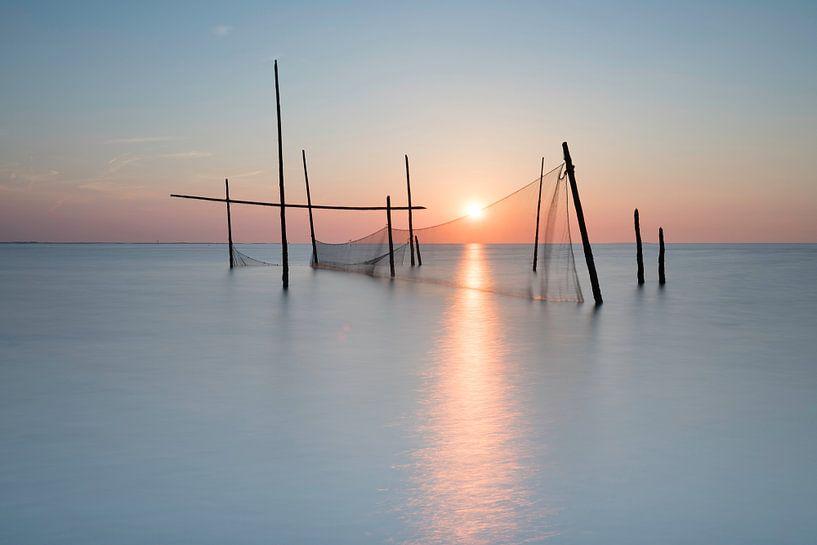 Visnetten op de Noordzee van Ingrid Van Damme fotografie