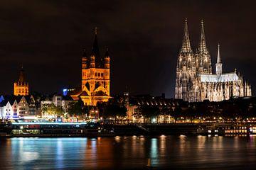 Paysage urbain de Cologne sur Natasja Tollenaar