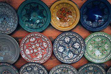 Marokkanische Zeichen von Patrycja Polechonska