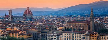 Ansicht von Florenz, vom Piazzale Michelangelo aus gesehen