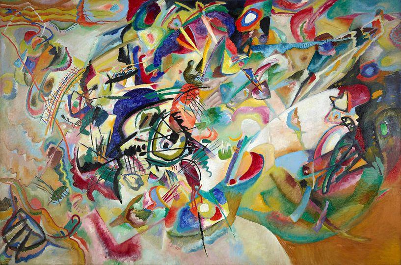 Samenstelling VII, Wassily Kandinsky van Meesterlijcke Meesters