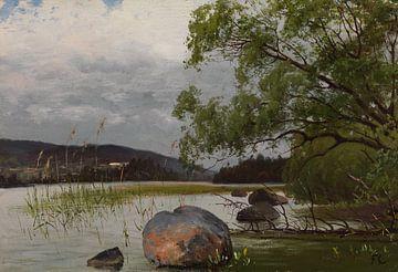 Fanny Churberg~Kust landschap