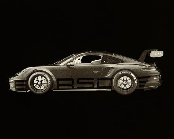 Porsche 911 GT-3 RS - Cup 2021 zijde