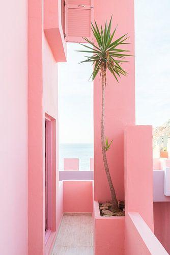 La Muralla Roja - uitzicht van