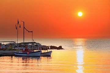 Zonsopkomst Zakynthos haven von Dennis van de Water