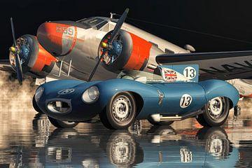 Der legendäre Jaguar Typ D