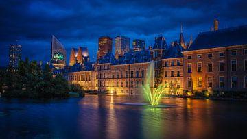 Blue Hour Den Haag von Ellen Thys