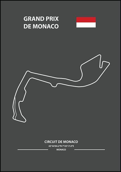 GRAND PRIX DE MONACO    Formula 1 von Niels Jaeqx