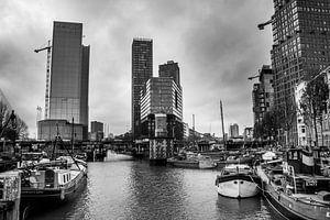 Straßenansicht über den alten Hafen