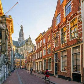 De Jansstraat in Haarlem van Dirk van Egmond