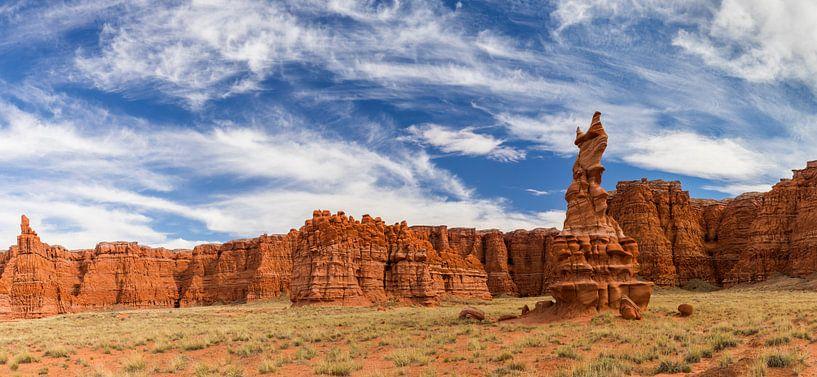 Painted Desert in het noorden van Arizona van Henk Meijer Photography