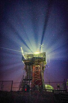 Der Leuchtturm von Vlieland von Sébastiaan Stevens