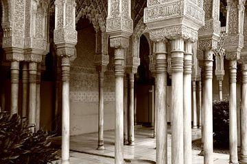 Verzierte Säulen von Wytze Plantenga