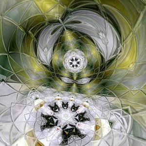 Diamanten Bloem van Nina IoKa