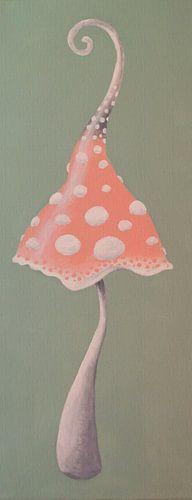 Fantasie Pilz van