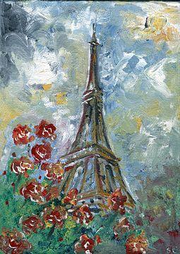 Eiffel-Tournee - Paris von sarah Loecker