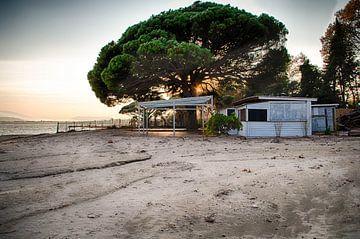 Strand Sainte-Maxime Frankrijk van Evy De Wit