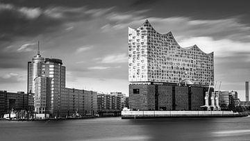 De Elbphilharmonie in zwart-wit van Henk Meijer Photography