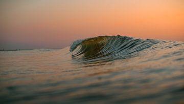Golven Domburg zonsondergang 4 von Andy Troy