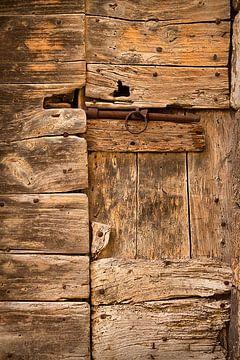 Oude deur van Peter Halma