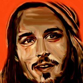 Johnny Depp Pop Art PUR Serie van Felix von Altersheim
