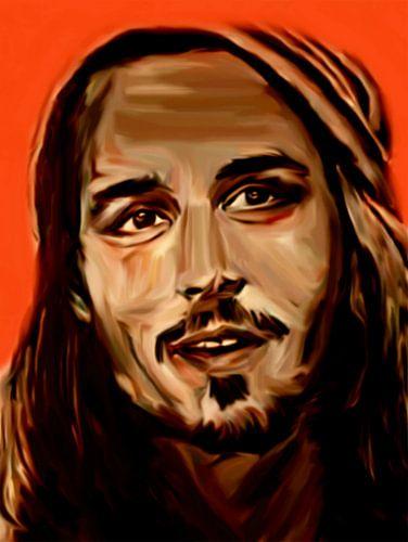 Johnny Depp Pop Art PUR Serie