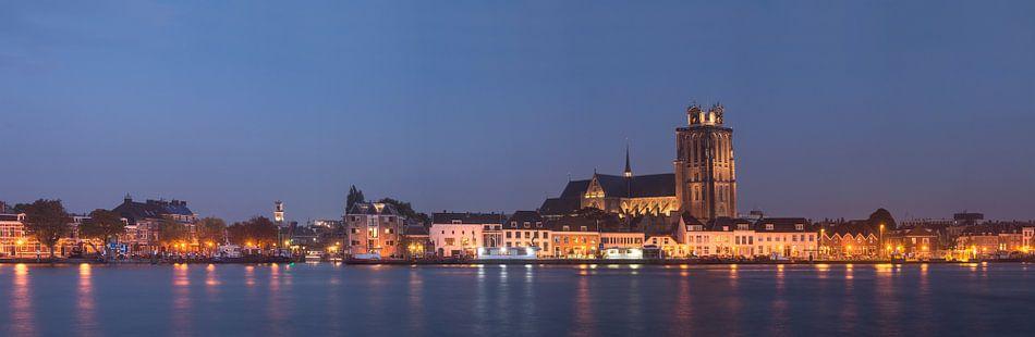 Skyline van Dordrecht van Jan Koppelaar