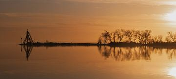 Sonnenuntergang Hoorn von Tom De Peuter