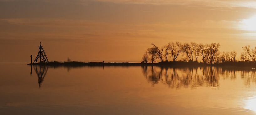 Sunset Hoorn sur Tom De Peuter