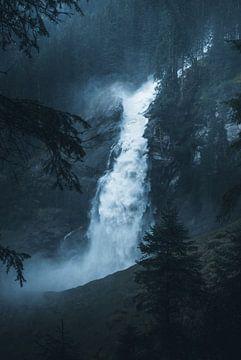 Krimmler waterval van Dylan Shu