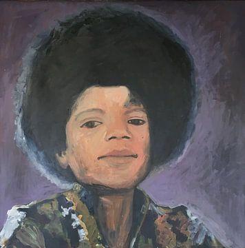 Jonge Michael Jackson von Bert Jan Nieuwenhuize